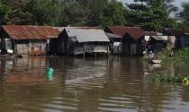 Dân mòn mỏi… ngóng bờ kè để được sửa nhà