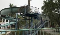 Số phận hẩm hiu công viên nước một thời hoành tráng nhất Thủ đô