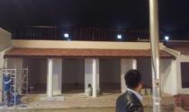 5 người Trung Quốc trong công trường quây kín xây trái phép