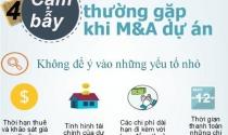 Infographic: Bốn cạm bẫy trong M&A bất động sản