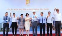 Dự án khu dân cư M-One Nam Sài Gòn cất nóc đúng tiến độ