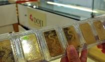 Giá vàng trong nước đi xuống
