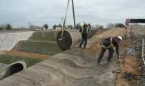 Bê tông vải cuộn - vật liệu xây dựng thế hệ mới
