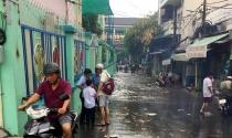Nâng đường Kinh Dương Vương: Gây ngập hẻm thấp