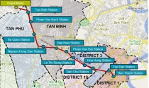 TP.HCM: Hệ số điều chỉnh giá đất để tính bồi thường ở dự án Metro số 2 từ 3,02 đến 4,94