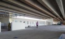 Giải tỏa dãy nhà kiên cố dưới gầm cầu cao tốc Hà Nội – Hải Phòng