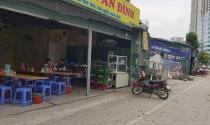 Hà Nội: Hàng loạt ki-ốt xây trái phép trên đường Nguyễn Hoàng