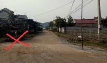 Hà Tĩnh: Dân bức xúc vì đường bàn giao sai thiết kế, quy hoạch