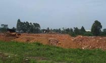 Bình Xuyên - Vĩnh Phúc: Dự án chưa được giao đất, chưa có ĐTM vẫn san lấp mặt bằng