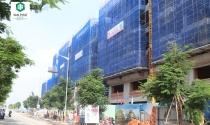 Đồng loạt cất nóc gần 200 căn nhà phố thương mại tại Khu đô thị Vạn Phúc