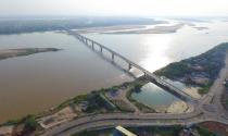 Sắp thông xe cầu hơn 1.800 tỉ bắc qua sông Hồng