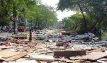 Tháo dỡ 400 ki ốt tạm tại khu vực Ngã Tư Sở
