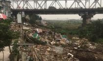 Giải tỏa các công trình lấn chiếm bờ vở sông Hồng
