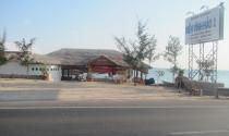 Nhà hàng xây trên... bãi biển
