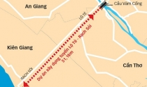 Hoàn thành toàn tuyến Lộ Tẻ - Rạch Sỏi nối Cần Thơ - Kiên Giang vào tháng 3/2020