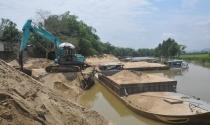 Nạn khai thác cát, sỏi trái phép: Có dấu hiệu bao che, buông lỏng quản lý