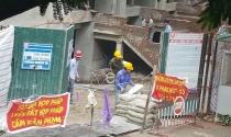 """Hà Nội: Dừng xây 18 nhà liền kề xây dựng """"chiếm"""" lối đi chung của dân"""