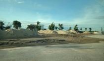 Quảng Xương - Thanh Hóa: Biến đất thuê dịch vụ, thương mại thành nơi tập kết cát, đá?