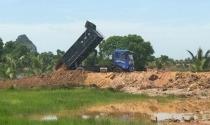 Quảng Yên (Quảng Ninh): Cần mạnh tay xử lý tình trạng tự ý đổ đất, san lấp mặt bằng trái phép