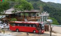 Hàng loạt công trình xây trái phép dọc đèo Đại Ninh tại Bình Thuận