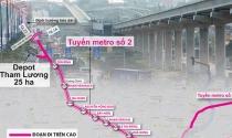 Ì ạch tuyến metro số 2