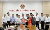Trao chứng nhận đầu tư cho Dự án kinh doanh cơ sở hạ tầng KCN Bạch Đằng trị giá 1.000 tỉ đồng
