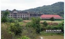 Chậm tiến độ, dự án khách sạn sân golf triệu đô ở Lạng Sơn vào tầm ngắm xử lý