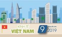 Infographic: Kinh tế Việt Nam quý 3 và 9 tháng đầu năm 2019