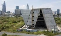Trung tâm triển lãm 800 tỷ đồng nằm trơ trọi giữa Thủ Thiêm