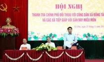 Thanh tra Chính phủ, Hà Nội đối thoại với dân Đồng Tâm
