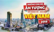 Infographic: Những con số ấn tượng về kinh tế - xã hội Việt Nam năm 2019