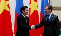 Chủ tịch Trương Tấn Sang tại Nga