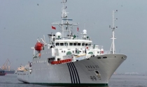 3 tàu, 1 trực thăng Hải giám Trung Quốc tuần tra trái phép Hoàng Sa