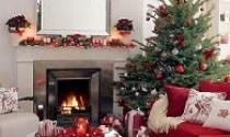Trang trí phòng khách đón Giáng sinh