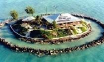 """Kỳ thú ngôi nhà """"mọc"""" giữa rặng san hô"""