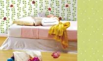 Những mẫu giấy dán tường đáng yêu cho các bé