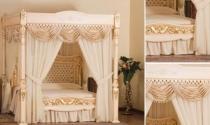 Giường ngủ phong cách hoàng gia hơn 133 tỷ đồng