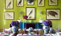 Những cặp màu hoàn hảo cho căn nhà có gout