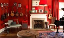 Cách sử dụng 11 tông màu phổ biến trong nội thất