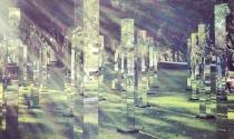 Khu vườn gương bí ẩn như 'mê hồn trận'