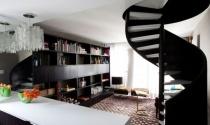 Cầu thang xoắn ốc: Tăng vẻ duyên dáng cho ngôi nhà hiện đại