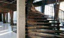 10 mẫu cầu thang sáng tạo và hiện đại