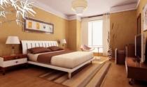 Kê giường ngủ sát góc hay giữa phòng?