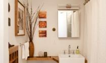 12 mẹo nới rộng phòng tắm chật