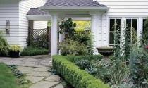 Những cách bố trí đường vào nhà, lối đi và cửa trước hợp lý