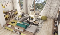 Hai mẫu căn hộ hiện đại dành cho gia đình trẻ