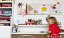 Trang trí phòng cho bé lấy cảm hứng từ các lớp học