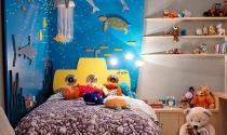 Những cách sáng tạo để thêm màu sắc cho phòng của bé