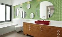 Gương phòng tắm, đặt sao cho đẹp?