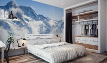 Tranh treo tường mùa đông cho nhà đẹp cá tính